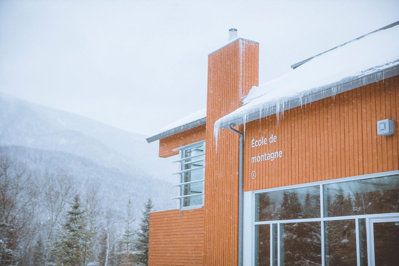 École de montagne.